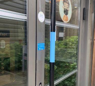 Vertical Door Handle Protection Kit