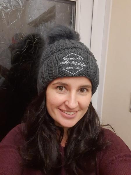 Jen Johnson Bobble Hat