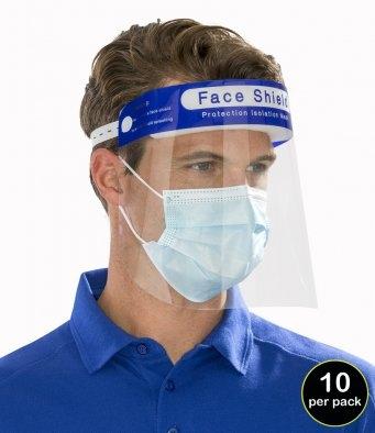 PPE Covid Splash Face Mask