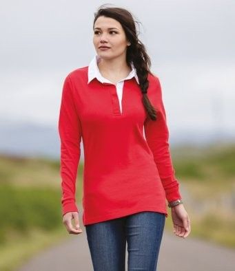 Little Ship Ladies Rugby Shirt